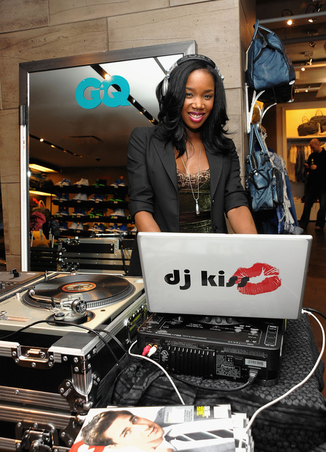 DJ Kiss attends the one-year anniversary party of Diesel Planet celebrated by GQ + Diesel at the Diesel Store on March 25, 2010 in New York City.